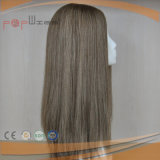 100% 순수한 색깔 최고 판매 급료 Remy 머리 실크 최고 여자 가발 (PPG-l-0871)