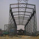 Overheaded 훅 기중기를 가진 전 설계된 가벼운 강철 구조물 작업장