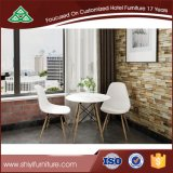 Verschiedener Farben-Gewebe-Stuhl-einfache speisende Stuhl-hölzerne Bein-Büro-Stuhl-Ausgangsmöbel