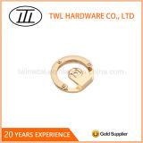둥근 밝은 금 색깔 합금 기계설비 훈장 부속품