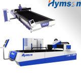 machine de laser de fibre d'acier inoxydable d'acier du carbone de la commande numérique par ordinateur 500W