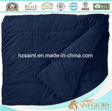 Comforter lavabile blu scuro del poliestere di Microfibre di colore solido di gloria del san