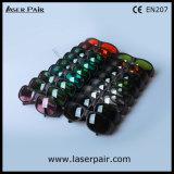 V. lasers 635nm vermelhos do L.T 35% + 808nm, óculos de proteção protetores de laser de vidros da segurança do laser dos diodos 980nm com frame preto 33