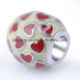 Handgemachte silberne Großhandelsraupe für Armband-Schmucksachen
