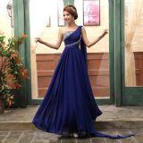 Vestiti da sera Jeweled abito convenzionale chiffon di promenade della damigella d'onore E13907