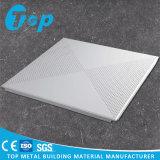 Clip de aluminio de acústica en la Plaza techo para el sistema de techo suspendido