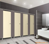 Cloison de toilette à base de phénol solide solide de haute qualité pour la toilette de l'aéroport