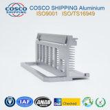 6063-T5 het Profiel van het aluminium voor Heatsink met CNC het Machinaal bewerken