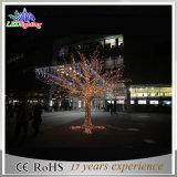 Grande albero di Natale esterno artificiale del basamento di Acrylice della decorazione del LED per il grande magazzino