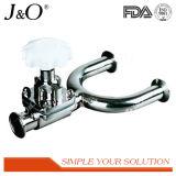 Válvula de diafragma 3-Way sanitária do aço inoxidável da venda quente