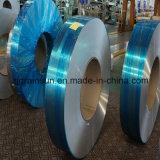 青いPEのフィルムが付いている5052 H32アルミニウムシート