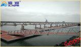 Изготовленный стабилизированный трап мостк алюминиевого сплава