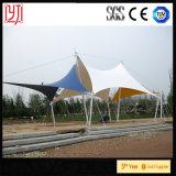 Impermeabilizar y tienda extensible del parque de la estructura de acero de la Sun-Prueba