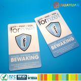 Anti PVC RFID del riprogrammatore che ostruisce le schede per protezione della scheda di pagamento