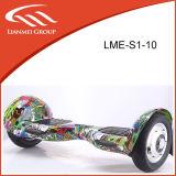 Dos populares neumático de la rueda de 10 pulgadas eléctrico Equilibrio Vespa LME-S1-10