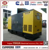 Le groupe électrogène diesel silencieux électrique de Cummins 80kw/100kVA a placé avec ATS (20-1250kW)
