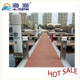 Dock flottant de poteau d'amarrage de service de pouvoir d'acier inoxydable/marina