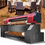ファブリック印刷のための直接Epson Dx7の印字ヘッド1.8m/3.2mプリント幅1440dpi*1440dpiの解像度のFarbics混ぜられたプリンター