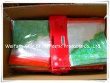 Taille personnalisée PVC transparent Sac de plastique à fermeture ZIP