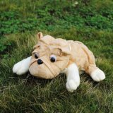 Car Decoration Dog Shape Peluche Stuffed Tissue Box Cover