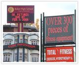 La publicité électronique mobile du signe P10 du panneau DEL de signe de message