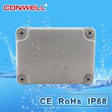 IP65 impermeabilizan el rectángulo eléctrico de los recintos del PVC