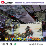 Galaxie extérieure/économie d'énergie d'intérieur coulant le panneau de location polychrome d'écran d'Afficheur LED pour annoncer (P3.91, P4.81, P5.95, P6.25, P5.68)