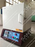 1800c zircão forno para instrumentos de laboratório 10litros 200*250*200mm
