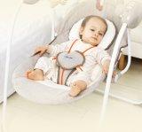 Commerce de gros fauteuil à bascule électrique Berceau pour bébé Chaise bébé portatif avec certificat CE de pivotement