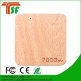 Banco de madera portable de la energía