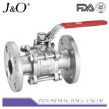 3PC Flanged End ASME 150lbs Ball Valve