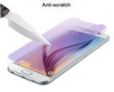 Film bleu facile en verre Tempered d'Ultra-violet-Épreuve d'installation d'accessoires de téléphone pour la galaxie S6 de Samsung