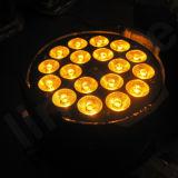 Mais barata preço DMX Stage 18X18W RGBWA UV LED PAR