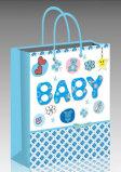 Bolsa de papel impresa elefante especial para el bebé