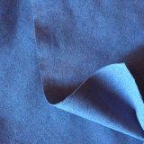 단화 일렬로 세우기를 위한 고품질 스웨드 직물 PU 가죽