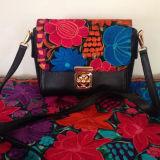 Ladies Noble Handbag Fashion Bag Metal Turn Lock