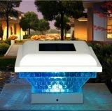Цветные лампы стойки солнечной энергии на ночное освещение в саду пейзаж фонарей 0,5 Вт на солнечной энергии ограждения фонари