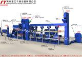 A máquina de granulagem antioxidante, reduz a poluição da poeira
