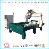 Granito di pietra Carver di CNC delle macchine per incidere del cilindro con rotativo