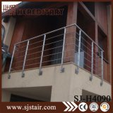 Cavo moderno dell'inferriata per l'acciaio inossidabile della scala ss 304# (SJ-S059)