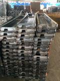 سقالة فولاذ لوح, لوح معدن ظهر مركب ([تبكترسر008])