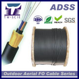 48 Core Non-Metallic Kevlar Yarn Optic Fiber Cables ADSS