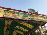 普及した子供は東湖公園の電車に乗る