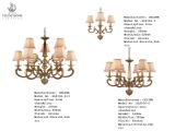 Lampada americana del lampadario a bracci di stile (SL2166-3)
