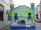 Monster Castillo inflable con tobogán, Salto inflable Combo