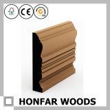 Matériel de construction Panneau de plinthes en bois de pin moulé pour bâtiment d'hôtel