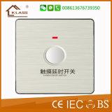 Toque retrasar el ahorro de energía el interruptor de luz Inicio