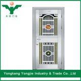 Porta de segurança interior americano porta de aço inoxidável com alta qualidade