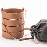 Sacchetto d'avanguardia della Cina della signora di sacchetto di cuoio di Crossbody del sacchetto della benna di modo borsa