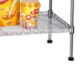 Регулируемый шкаф Shelving провода металла крома DIY для домочадца США
